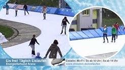 Eislaufen in der EnergieVerbund Arena Dresden