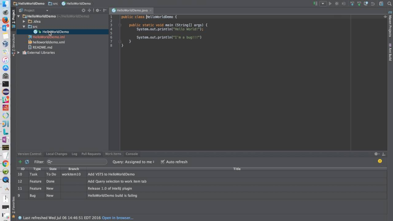 VSTS plugin for Android Studio and IntelliJ IDEA