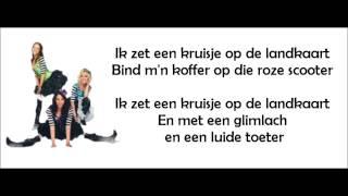K3-Mijn Liefje Achterna (Karaoke/ Instrumentaal)