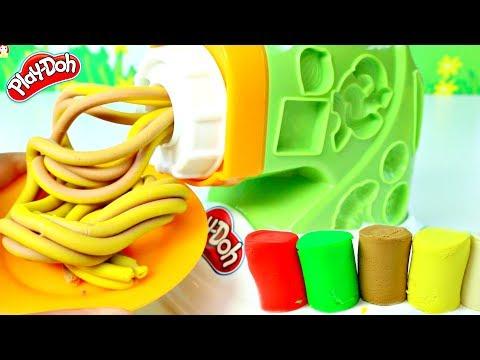 Plastilina Play Doh Fabrica de Pasta Play Doh Noodle Plates| Mundo de Juguetes