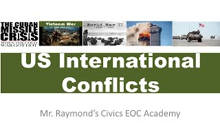 U.S.  Foreign Wars & Conflicts - Overview
