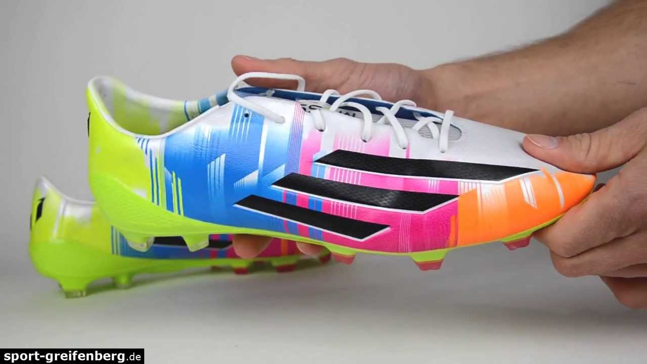 buy popular 78d8f a57bb Adidas F50 adizero TRX FG IV Messi - Review - Bewertung - Test - YouTube