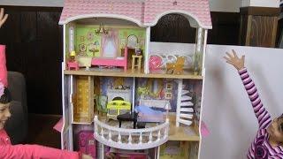Dollhouse princess Barbie's house presentation review thumbnail