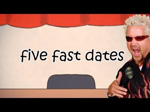 novel speed dating