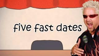 SPEED DATING! - Let's Play: Fast Five Dates