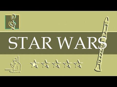 Recorder Notes Tutorial - Star Wars - Main Title (Sheet music)