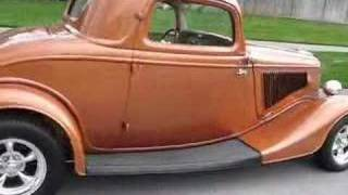 1934 Ford 3-Window Coupe Hot Rod Videos