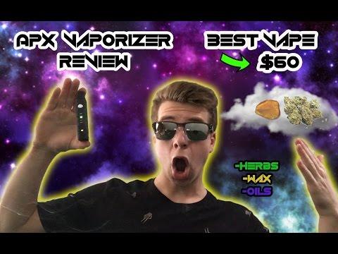 APX Vaporizer Review (BEST VAPE UNDER $100)