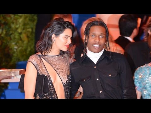 A$AP Rocky GRABS Kendall Jenner's Butt & Confirms Relationship At Met Gala 2017
