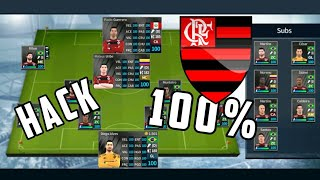 HACK DO FLAMENGO 100% PARA DREAM LEAGUE SOCCER 2018