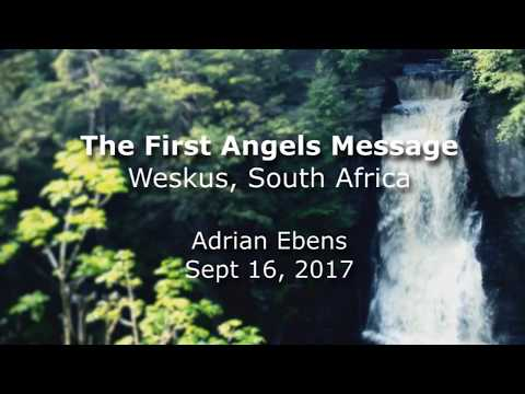 The First Angel's Message  - West Coast South Africa