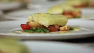 How To Make Avocado Sauce: Avocado Cream Sauce For Poached Halibut