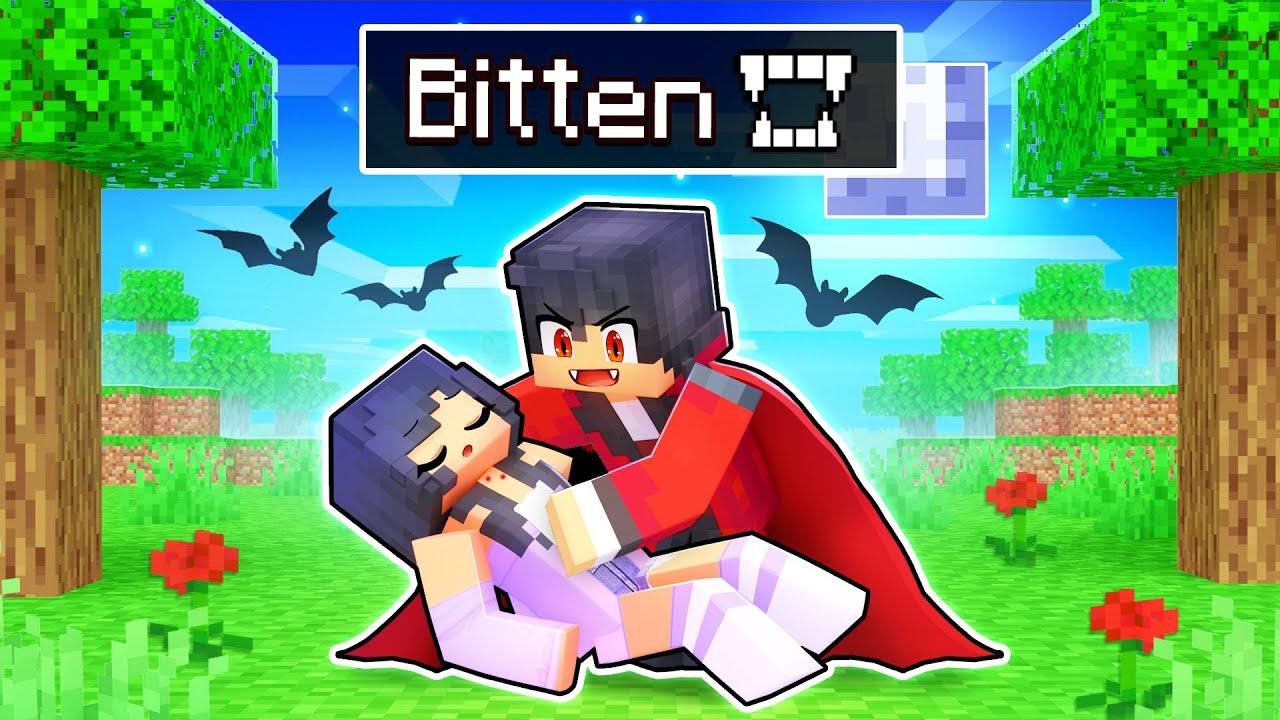 Download BITTEN by a VAMPIRE In Minecraft!