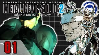 METAL GEAR SOLID 2: SONS OF LIBERTY | Metal Gear Saga Part 14: Taser knives