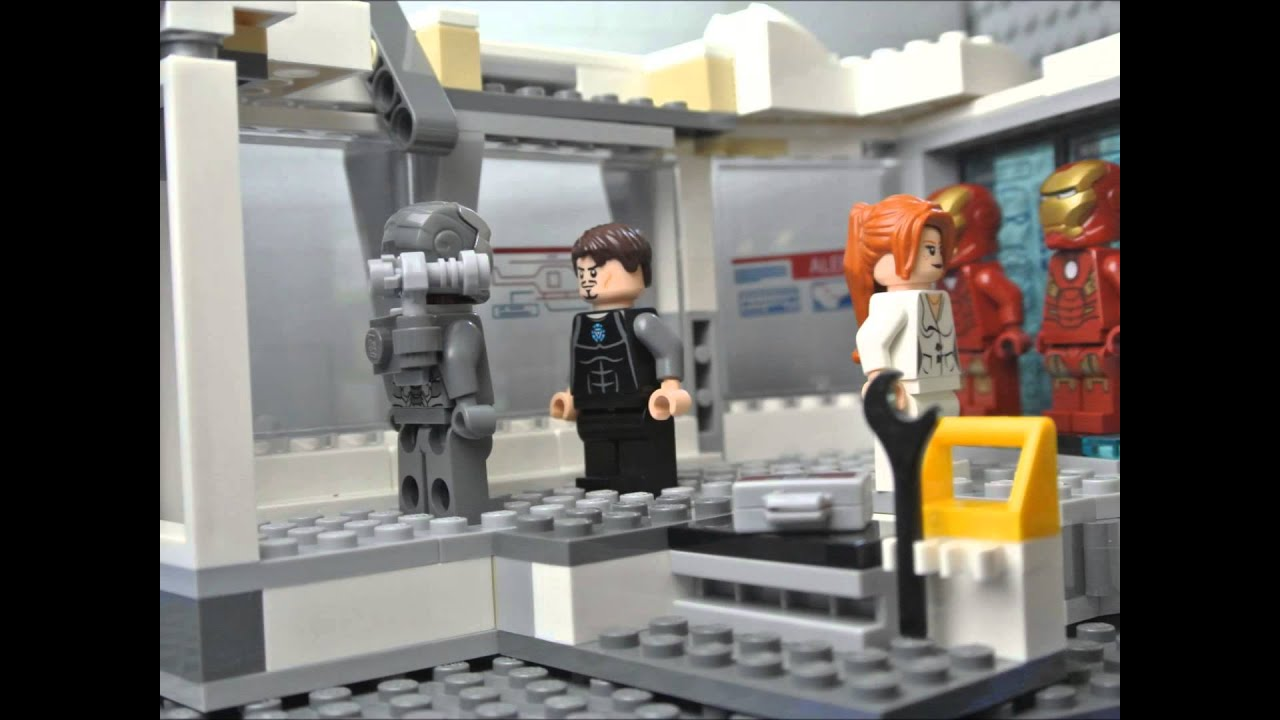 lego iron man 3 youtube