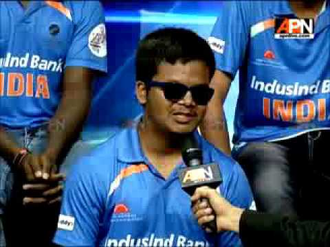 Watch Special interaction with Victorious T20 Blind World Cup Team