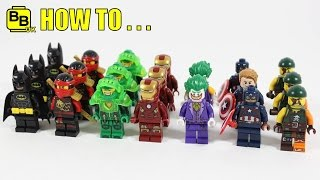 HOW TO USE YOUR LEGO DUPLICATE MINIFIGURES!