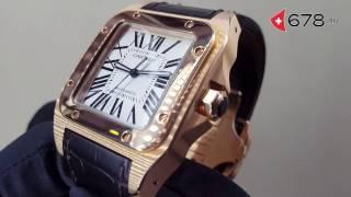 Cartier Santos de Cartier 100 Large W20095Y1 watch review