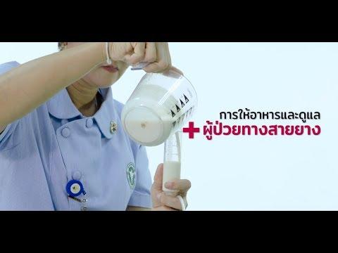 Palliative Care การให้อาหารและดูแลผู้ป่วยทางสายยาง เวชกรรมสังคม โรงพยาบาลปทุมธานี