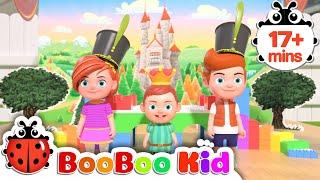 Canción Humpty Dumpty + Más canciones infantiles y canciones infantiles | Boo Boo Kid
