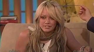 Hilary Duff   Ellen Degeneres Show 2004 12 10