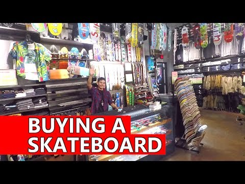 Buying A Skateboard At Zumiez / Roadtrip To Canada Vlog