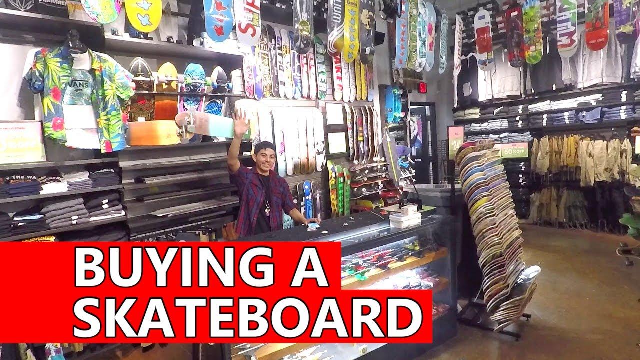 buying a skateboard at zumiez roadtrip to canada vlog youtube