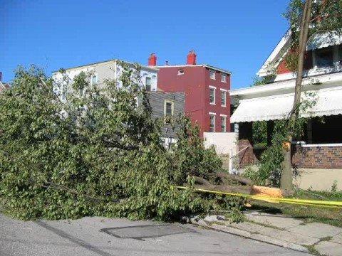 Ohio windstorm in Cincinnati