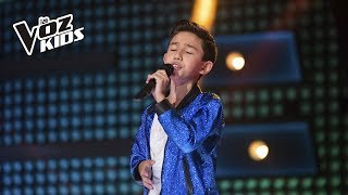 Juan David Ortega canta La Celosa - Rescates | La Voz Kids Colombia 2018