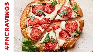 How to Make Chickpea Crust Pizza | Food Network