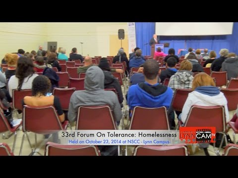 33rd Forum On Tolerance: Homelessness | Panel 1: WHO Are The Homeless?