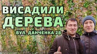 Висадили дерева - зробили добру справу з місцевою громадою до Дня захисників і захисниць України