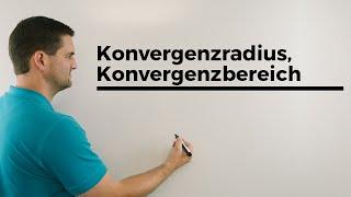 Konvergenzradius, Konvergenzbereich, Potenzreihen, Unimathematik, Analysis | Mathe by Daniel Jung