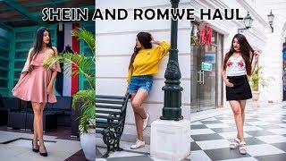 HUGE SHEIN + ROMWE TRY-ON HAUL | Tanisha Aggarwal