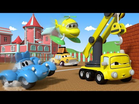 Play the Statues with the Baby Cars in Car City ! - Cartoon for kids