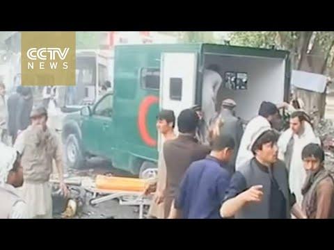 Suicide attack kills 33 in Afghanistan