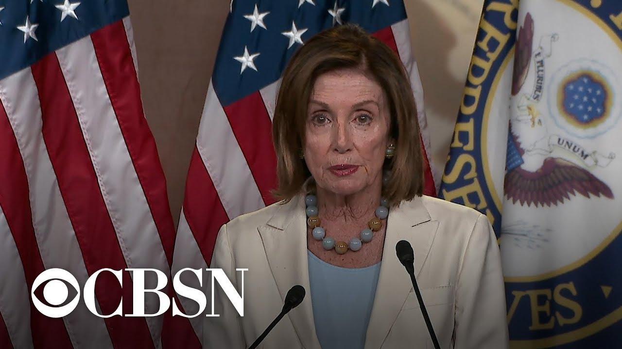 Speaker Pelosi on impeachment: