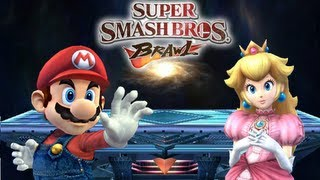 Super Smash Bros. Brawl - Mario vs Peach