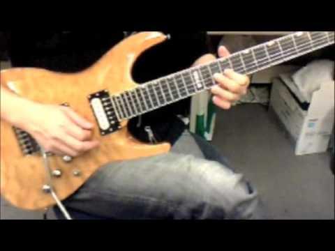 Hero -mariah carey guitar cover Neal schon ver