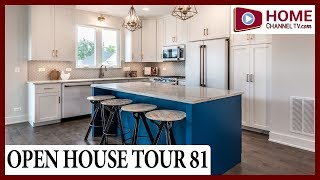 Open House Tour 81 - Cottage Style Row Home Model at Stafford Place in Winfield