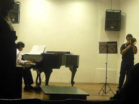 SANG TILL LOTTA (trombon y piano)  Luis C. Guerrero.