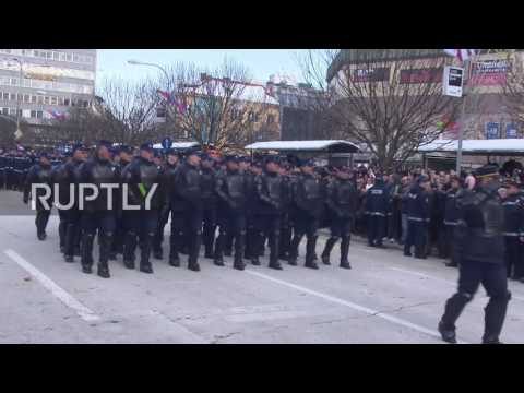 Bosnia and Herzegovina: Bosnian Serbs celebrate 'Statehood Day' despite court ban