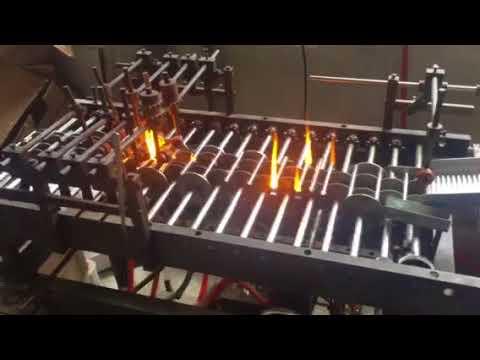 Glass Test Tube Making Process