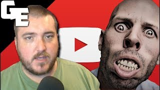 Crazy Man Confronts  Atheist About Facebook Ban || YouTube Comments