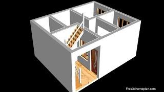 25x20 Small House Design Plan Ii 500 Sqft House Plan Ii Ghar Ka Naksha 2020