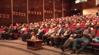 Dr. Senai Demirci, Erciyes Üniversitesi'nde Evlilik Okulu Semineri Verdi