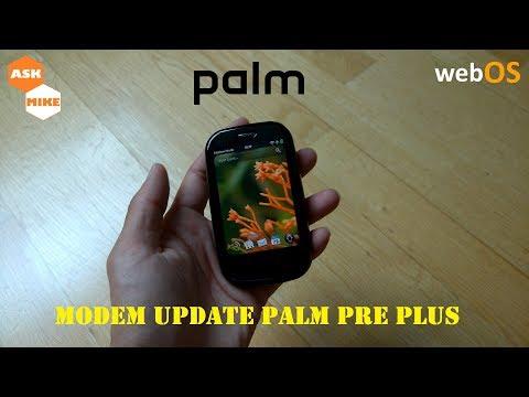 webOS Modem Firmware Update HP Palm Pre Plus