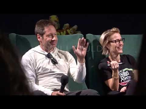 Spooky Empire Convention Orlando Gillian Anderson & David Duchovny Panel