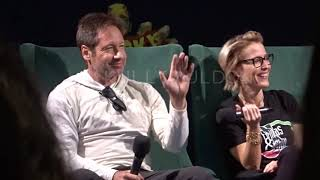 Spooky Empire Convention Orlando- Gillian Anderson & David Duchovny Panel