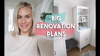 NEW RENOVATION VLOGS COMING SOON | WE HAVE SOME BIG PLANS!